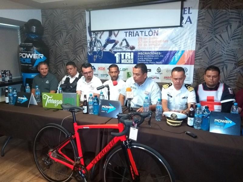 Presentan serial de ciclismo
