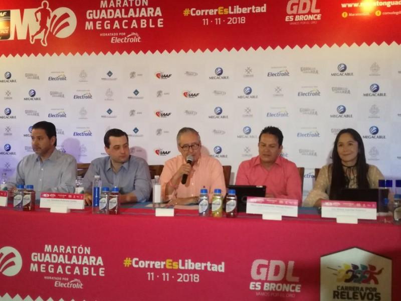 Alistan XXXIV edición del Maratón Guadalajara Megacable