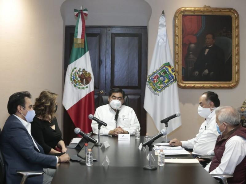 Presentarán autoridades decreto para mantener confinamiento en Puebla