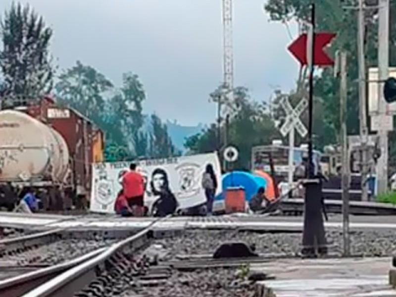 Presentó KCSM denuncia por bloqueo ferroviario en Uruapan