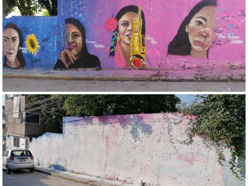 Presidencia municipal de Huixquilucan niega censura a feministas