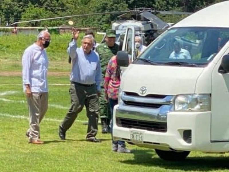 Presidente de México visita Nayarit, se reunió con gobernador electo