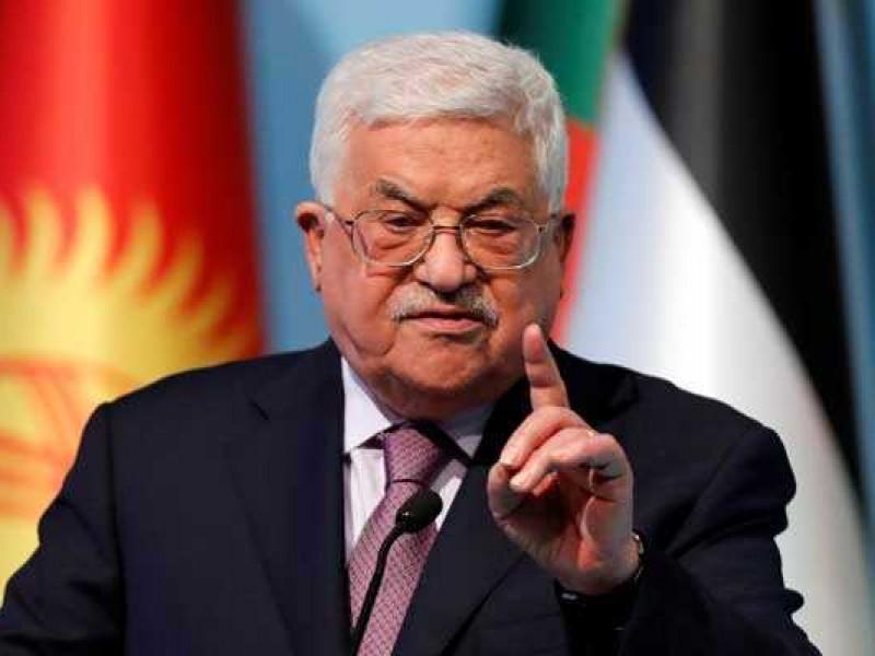 Presidente palestino, hospitalizado por infección pulmonar