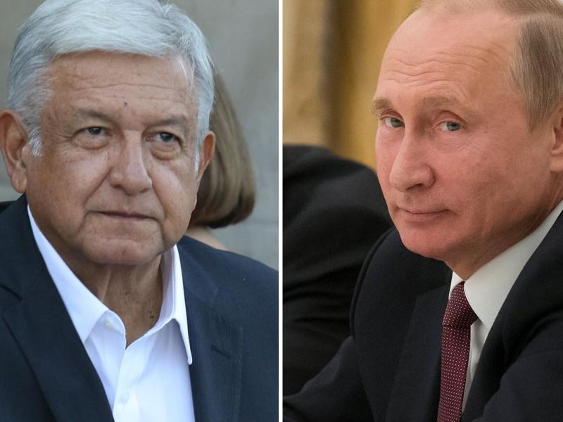 Presidente ruso podría reunirse con AMLO