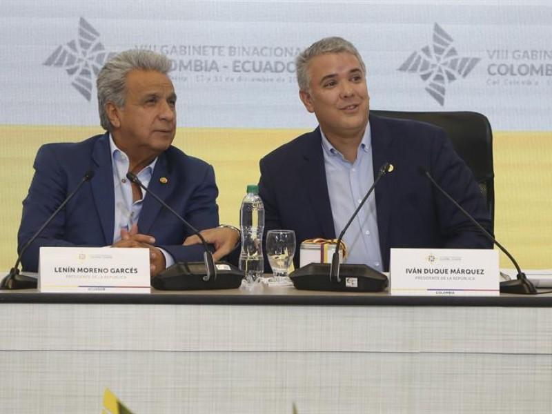 Presidentes de Ecuador y Colombia revisarán avances de puente binacional