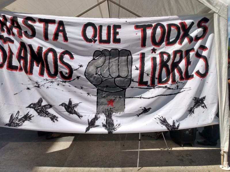 Presos cumplen cuatro meses en huelga de hambre