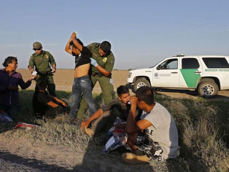 Presume EEUU reducción de detenciones fronterizas