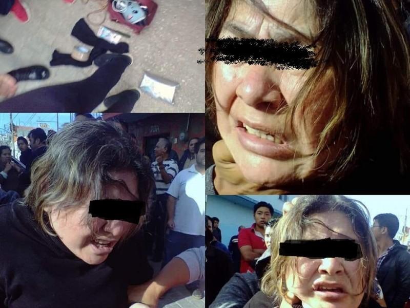 Presuntas secuestradoras son detenidas en flagrancia