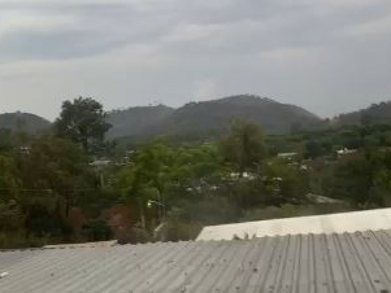 Presunto enfrentamiento armado moviliza a Policía Michoacán en Tancítaro