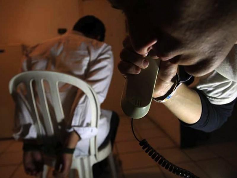 Presunto extorsionador detenido en la Ciudad de México