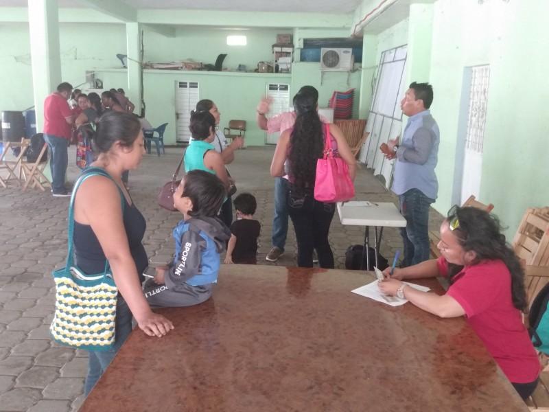 Presupuesto 2019 para programas BIENESTAR se agota: Tehuantepec