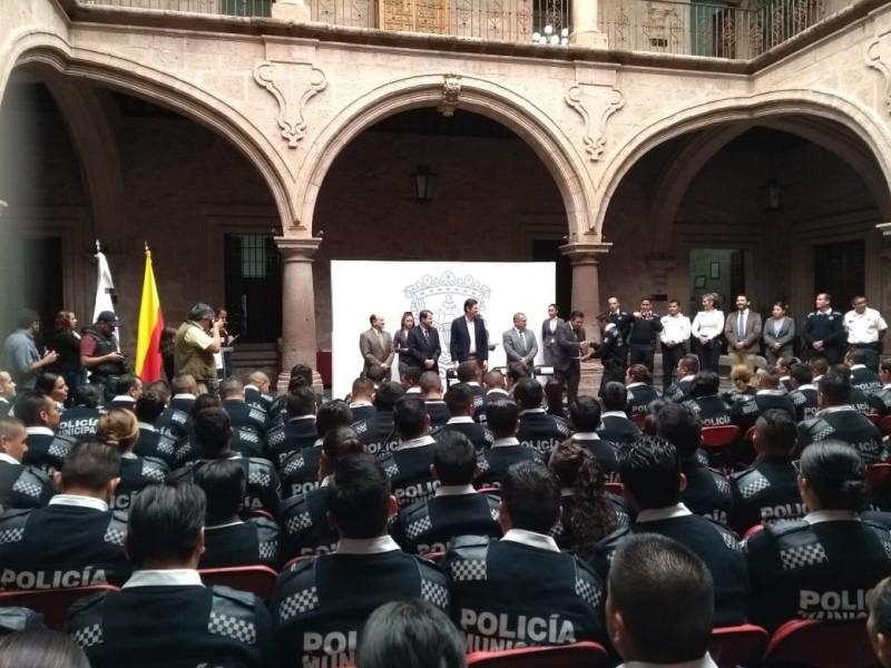 Presupuesto para rangos policiales asegurados: comisionado