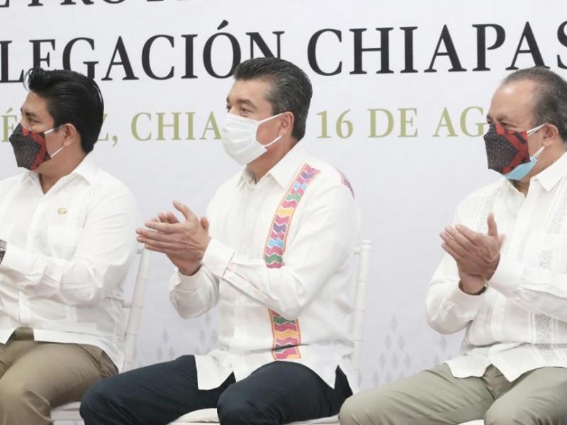 Presupuesto se ha destinado en obra pública en Chiapas: Escandón