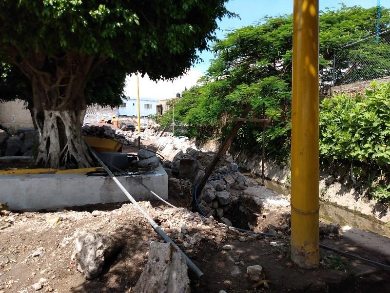 Pretenden evitar inundaciones con obra en tránsito estatal