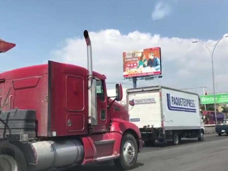 Pretenden reducir tráfico con prohibición de vehículos pesados