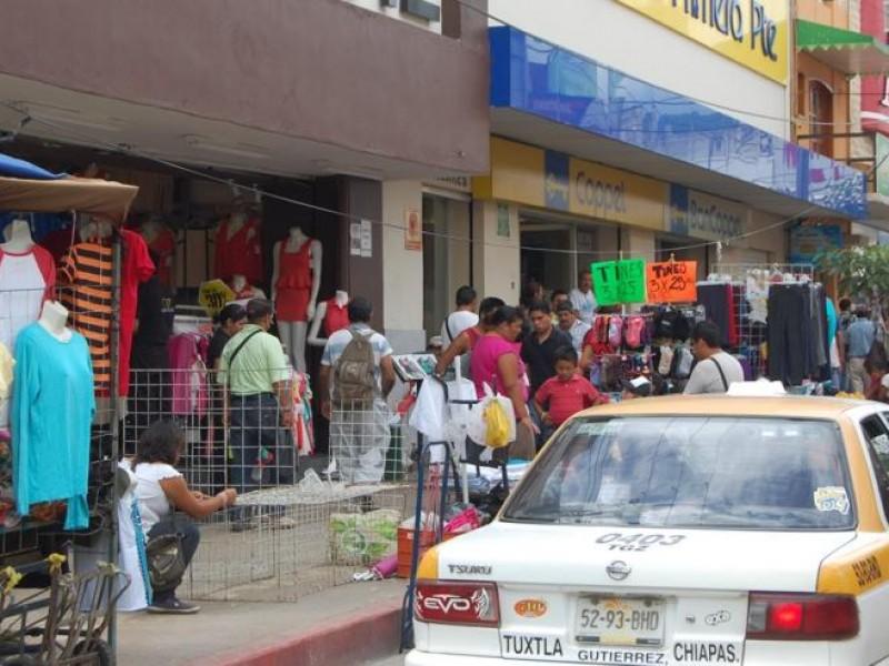 Prevalece comercio informal tolerado en tuxtla