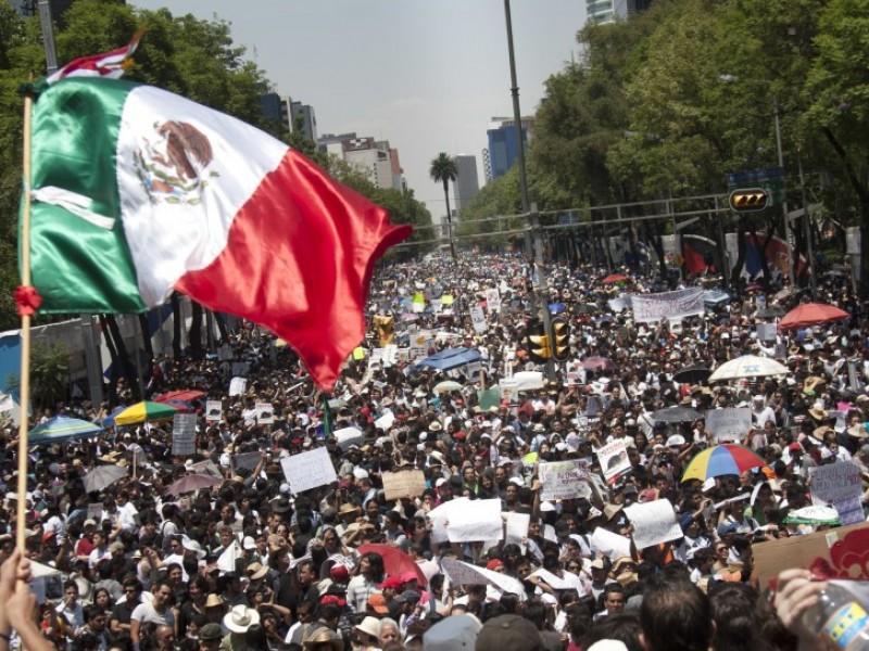 Prevén al menos nueve manifestaciones en CDMX