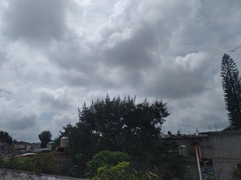 Prevén lluvias con caída de granizo para fin de semana