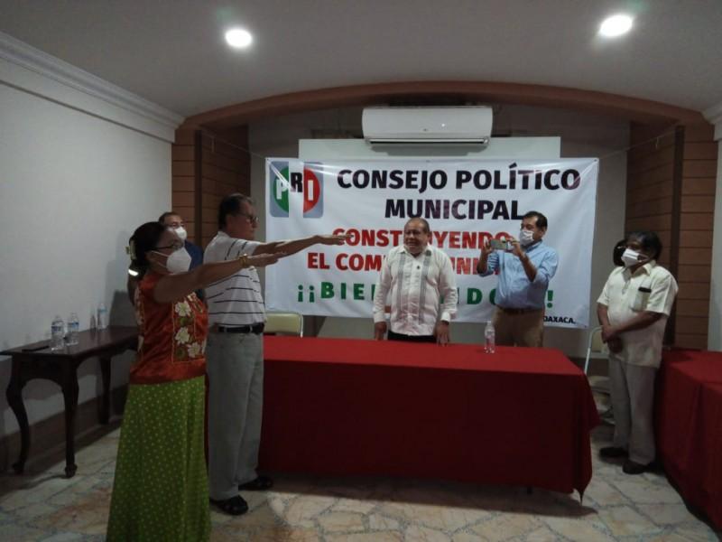 Comité Municipal de PRI coordina el proceso electoral