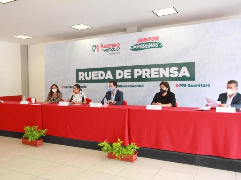 PRI en equipo en favor de Querétaro; Paul Ospital