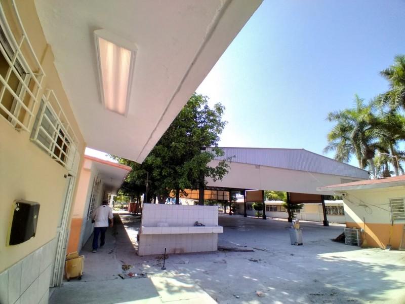 Primaria Agustina Ramírez se prepara para regreso a las aulas