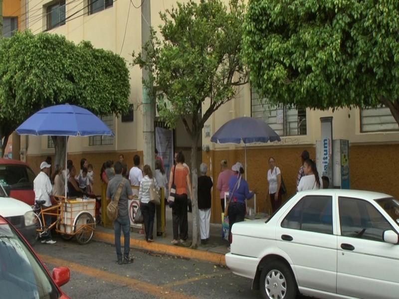 Primaria Héroes de Nacozari de Guadalajara sin maestros