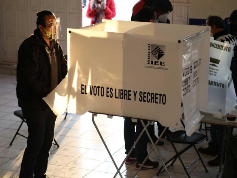 Primer empate tras elecciones municipales de Hidalgo