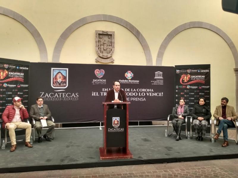 Primer Festival Internacional de Cine en Zacatecas