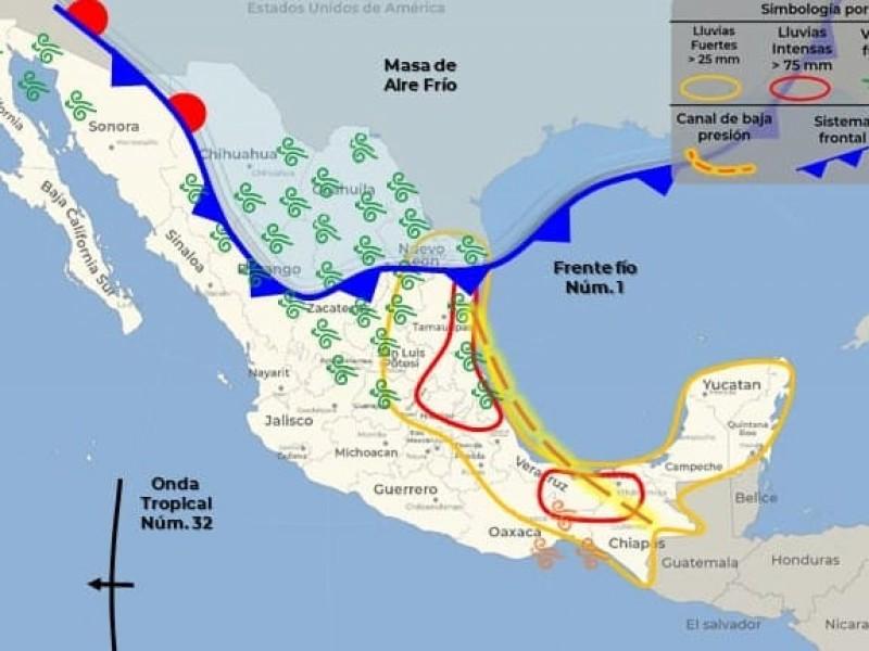 Primer frente frío en Puebla llegará hasta los cero grados