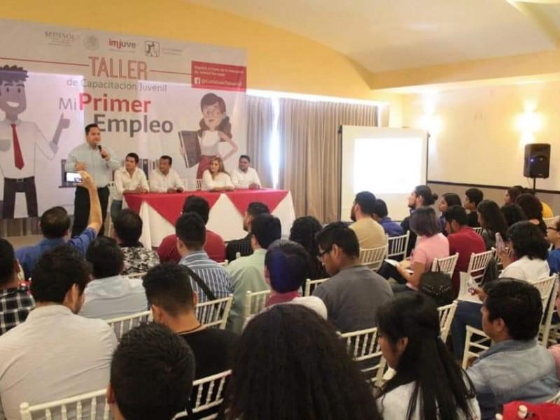 Primer taller de empleo en Chiapas