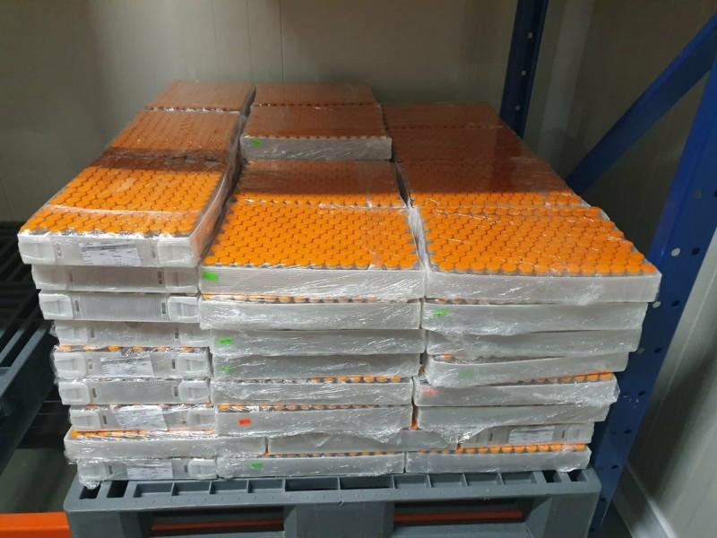 Primeras 2 millones de dosis de Cansino envasadas en México