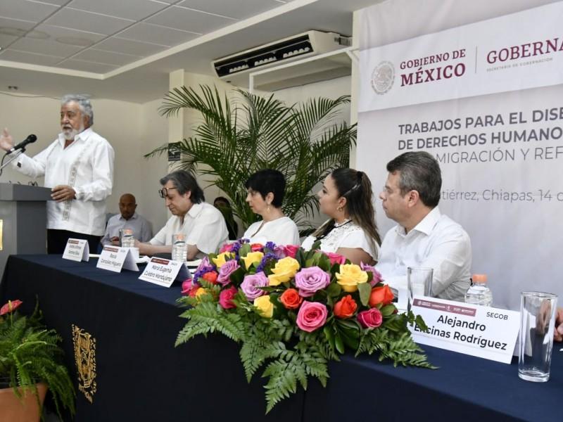 Prioritario fortalecimiento de política migratoria