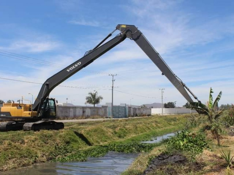 Priorizan limpieza de afluentes en zonas de alto riesgo