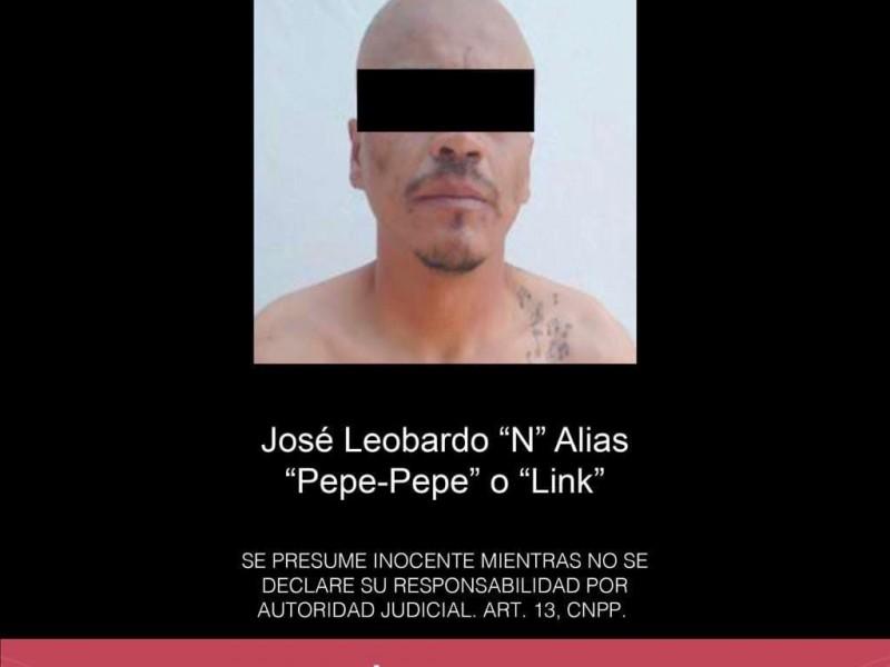 Prisión preventiva a presunto jefe de plaza