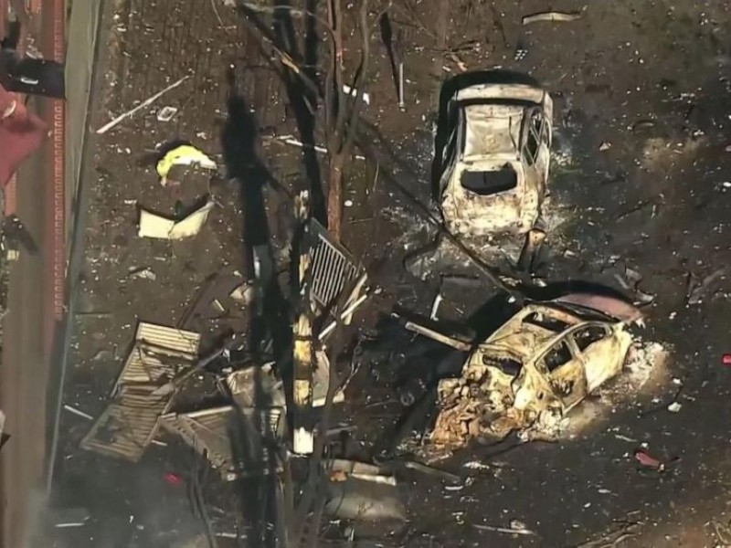 Probables restos humanos explosión Nashville, EUA
