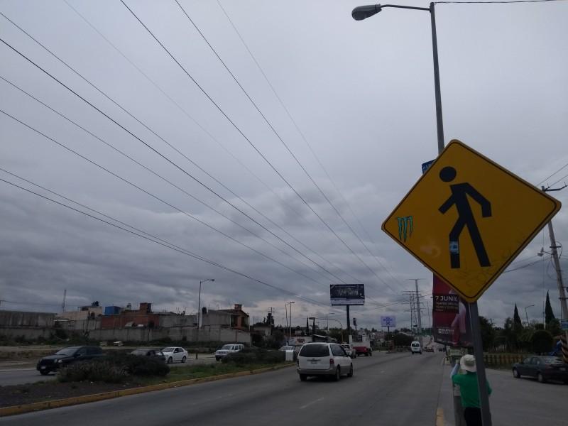 Problemas de tránsito peatonal en Las Torres