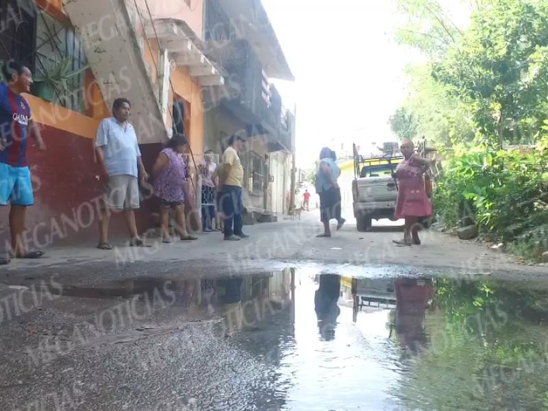 Problemática de aguas negras, sin atención en Tehuantepec