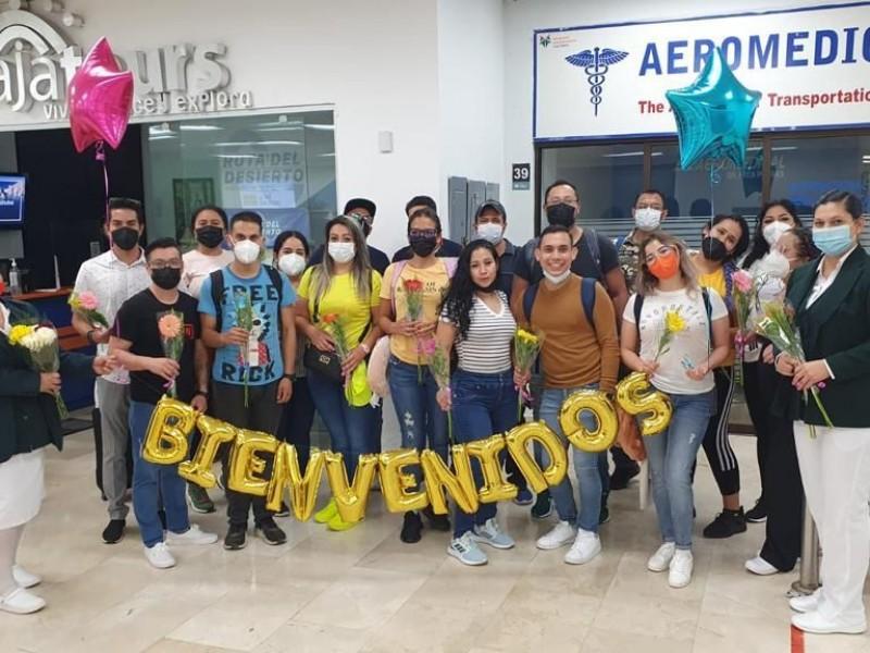 Procedentes de Michoacán, llegan más médicos a Los Cabos