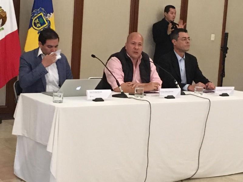 Busca Alfaro apoyo federal en Salud