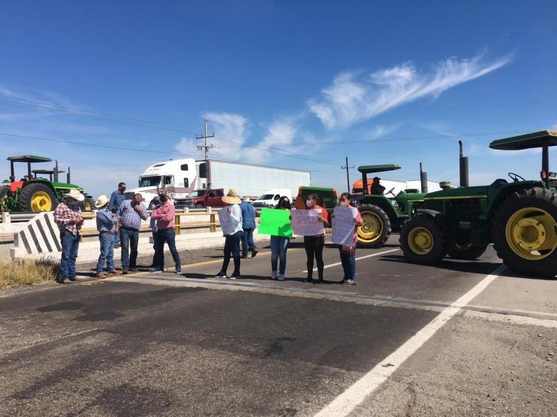 Productores de El Carrizo reciben sentencia por bloqueo de carreteras