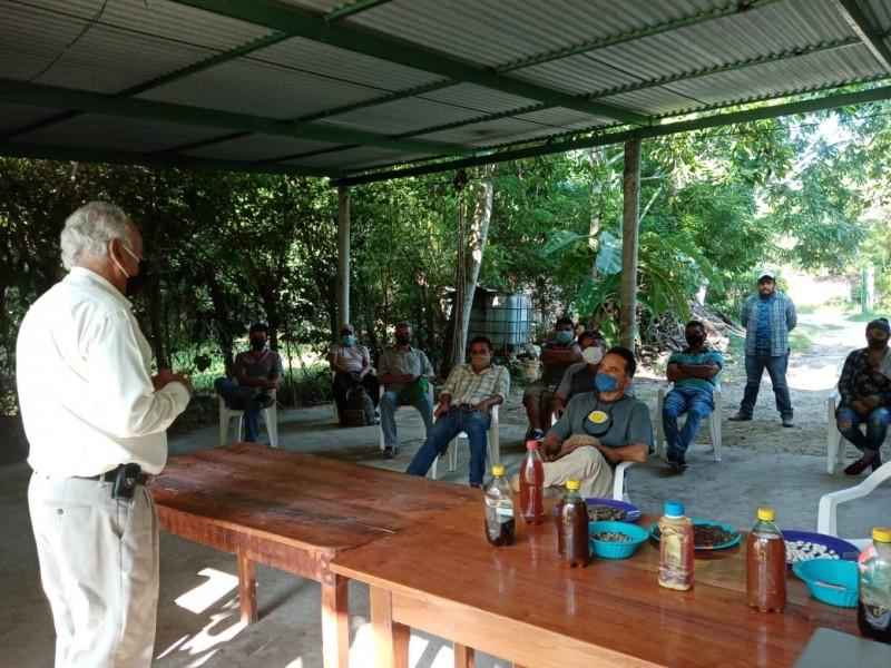 Productores de Papantla se interesan en técnicas de agroecología