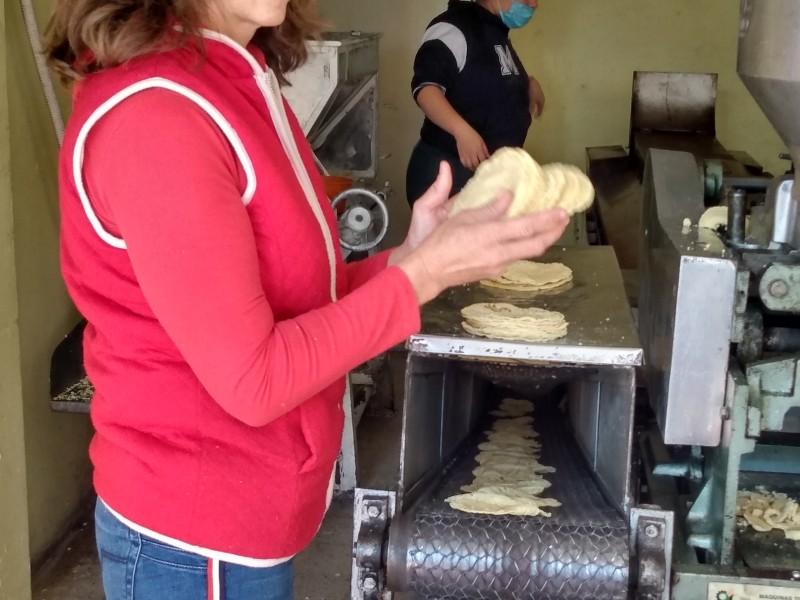 Productores de Tortilla en EDOMEX se quedan sin maíz