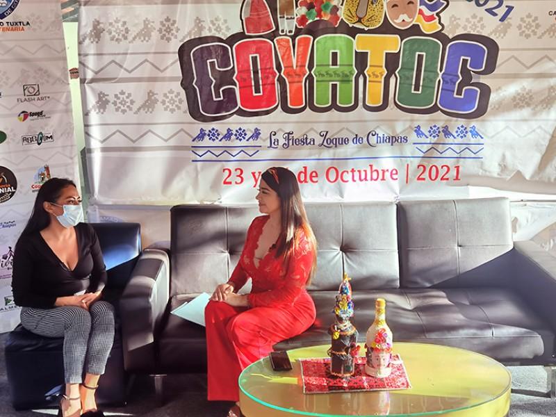 Productores expusieron productos y servicios en Festival Coyatoc