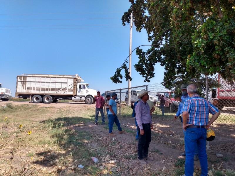 Productores toman bodega Columbia en Guasave
