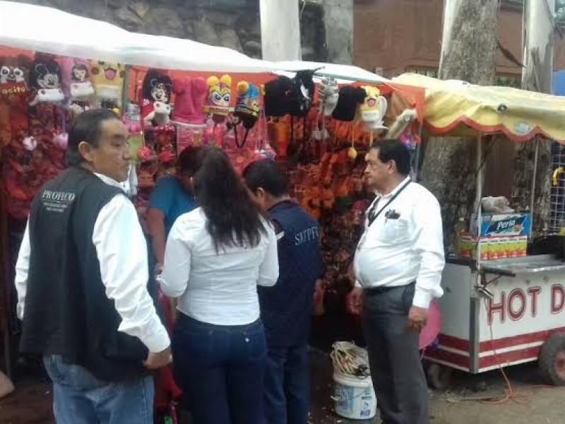PROFECO regulará comercio en  Barranca del Pichón