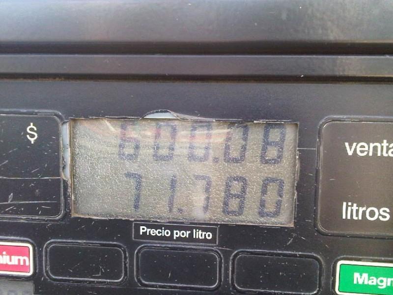 PROFECO detecta gasolinera con irregularidades en TGZ