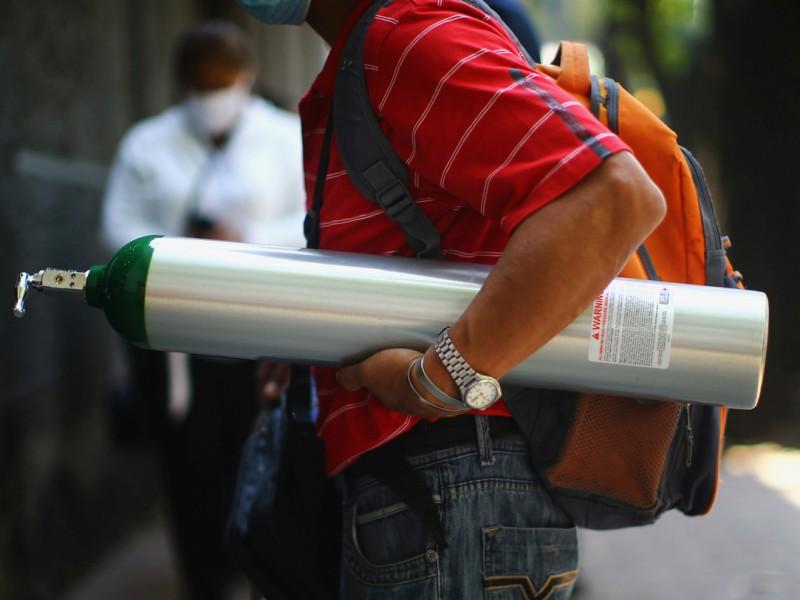 Profeco exhorta a devolver tanques de oxígeno sin usar
