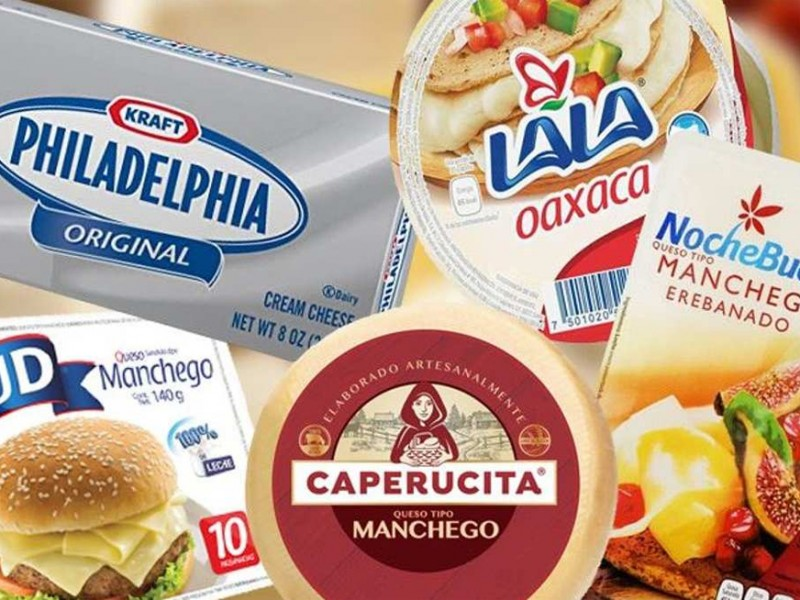 Profeco perdona a 12 quesos y un yogurt