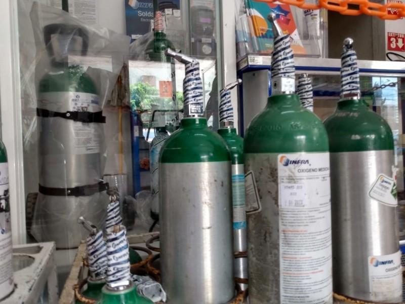 PROFECO pide denunciar abusos en precios de oxígeno medicinal
