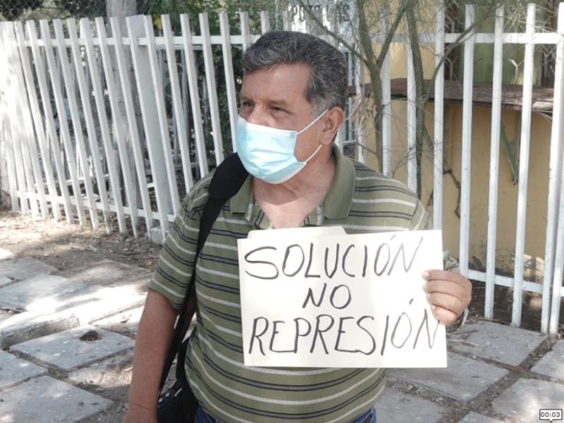 Profesor de 64 años teme contagiarse de Covid-19